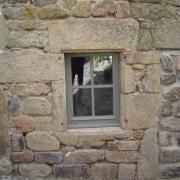 Gîte - fenêtre hall d'entrée