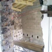 Percement du mur mezzanine /bureau