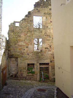 rue congrégation  - ruine