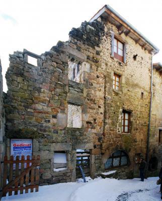 rue congrégation - façade avant travaux